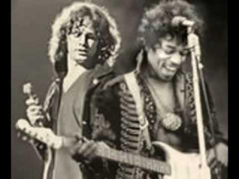 Jim Morrison & Jimi Hendrix