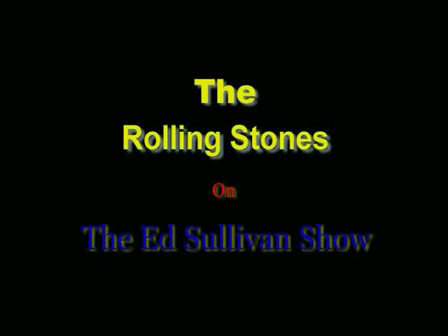 The Rolling Stones - As tears go by (Ed Sullivan Show '66)