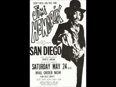 Jimi Hendrix - San Diego '69 FULL Concert
