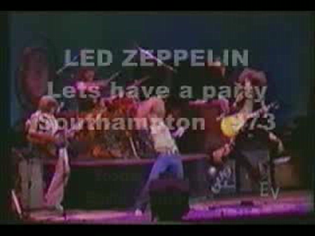 Led Zeppelin - Rare - Lets have a party