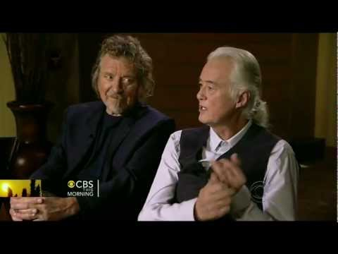 Led Zeppelin interview (Charlie Rose CBS 12/21/12)