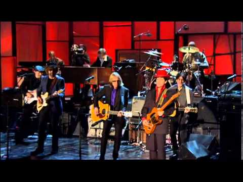 "Prince, Tom Petty, Steve Winwood, Jeff Lynne and others -- ""While My Guitar Gently Weeps"""