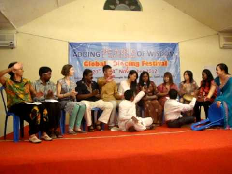Singapore Team @ Global Singing Festival ~ Chennai, India