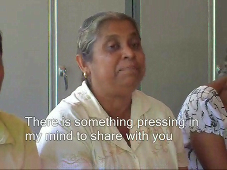 a 60 year old community-based resource person shares her story