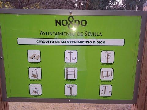 Parque de Miraflores   Circuito de Mantenimiento  - SEVILLA