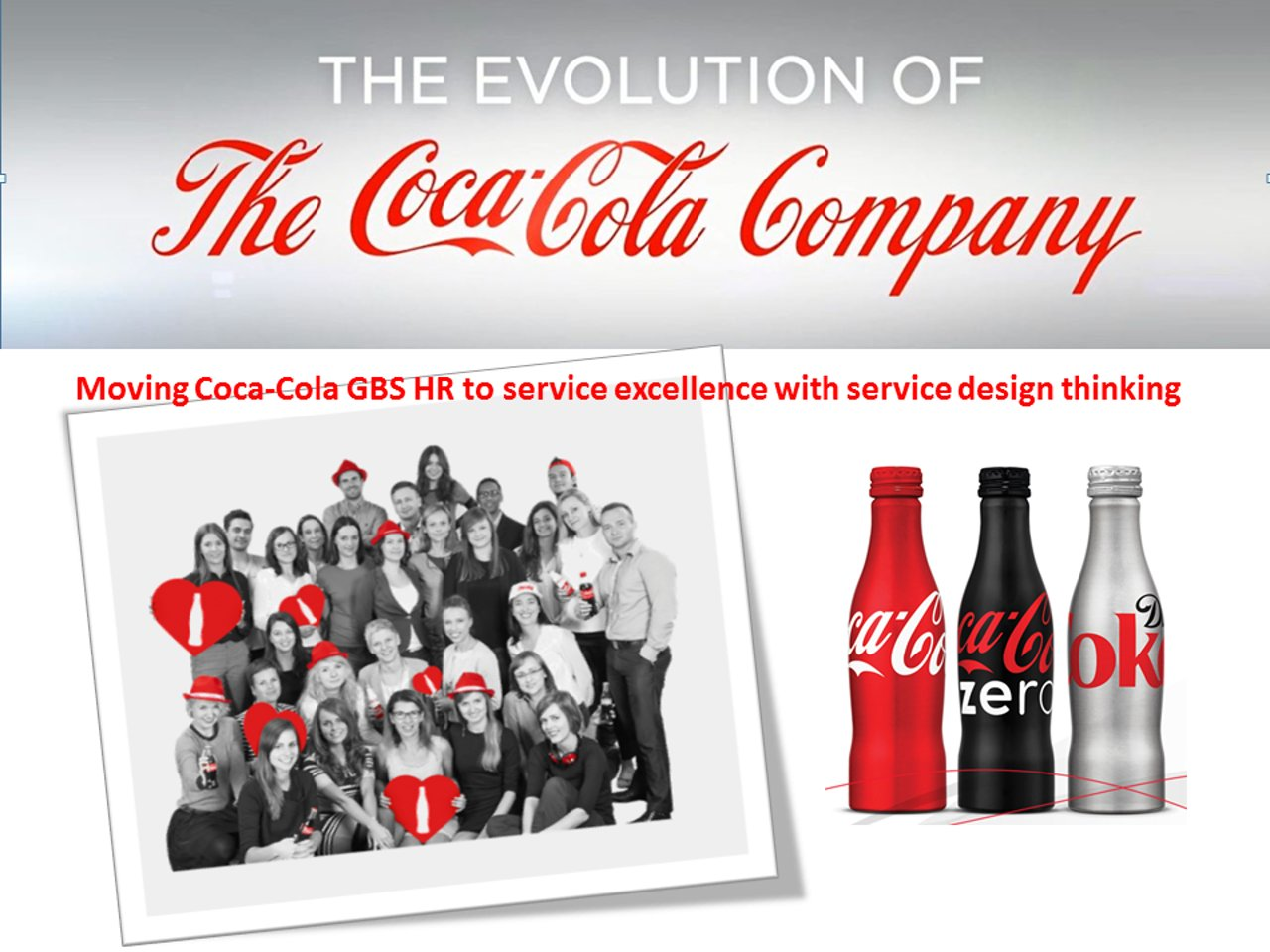 Coca-Cola Service Design Thinking