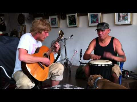 Djembe and Guitar At The Bike Preserve