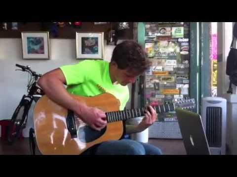 James Daniels playing a 1960 Fender F512