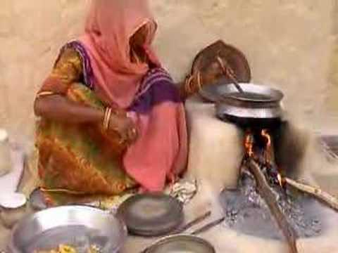 Indian village cooking