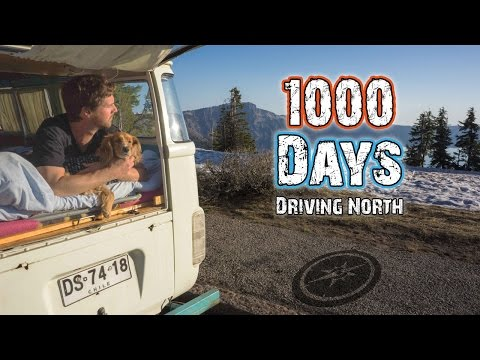 1000 DAYS DRIVING NORTH - (PAN-AMERICAN HIGHWAY)