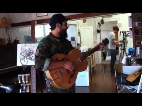 A little guitar music