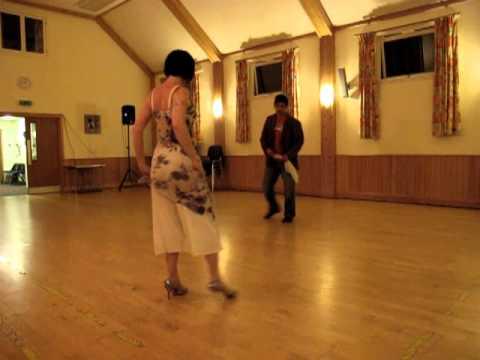 Yo y Anne bailando como una argentina.. ;)