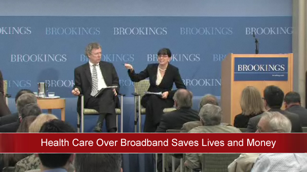 Health care over broadband saves lives and money