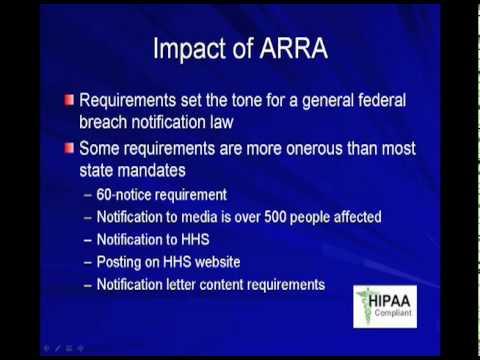 Informatics: HITECH Act Compliance - Part 2 of 2