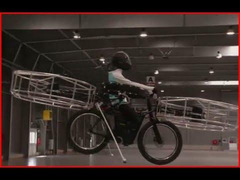 Flying Bike Created in Czech Republic