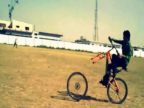 Pushpesh Baid – Amazing Bicycle Stunts – Pushpesh Baid