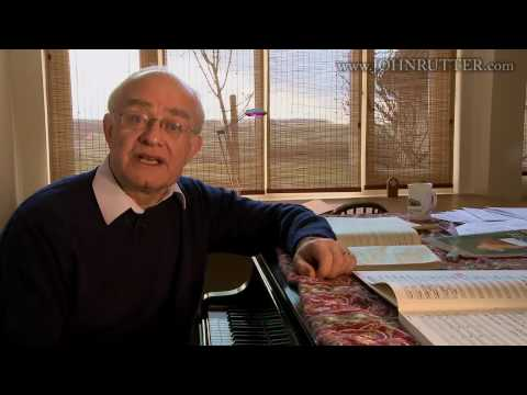 John Rutter on the 'Requiem'. 1: Impulse and influence