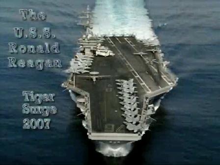 USS Ronald Reagan CVN76 Airshow 2007
