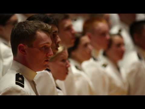 """Naval Academy Glee Club Tribute to Pearl Harbor. """"Eternal Father"""", The Navy Hymn."""