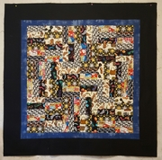 Jelly Roll Day quilt top