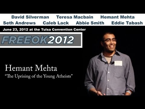 """FreeOK2 - Hemant Mehta """"The Uprising of the Young Atheists"""""""