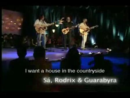 casa no campo  caçador de mim  espanhola - Sá,Rodrix e Guarabira