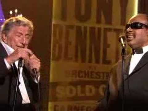 Tony Bennett and Stevie Wonder - For Once in my life