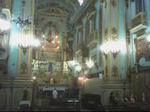 Presépio NATAL Igreja Nossa Senhora do Carmo da Lapa ***** RJ 2009