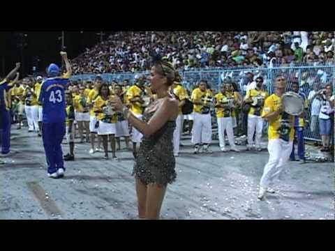 Unidos da Tijuca - Adriane Galisteu a Rainha de bateria