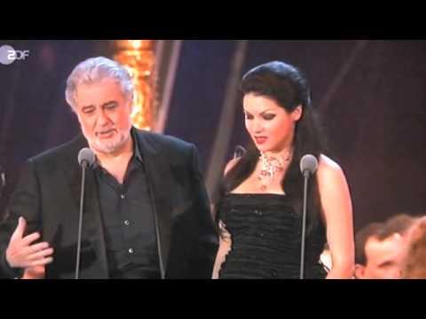 Anna Netrobko e Plácido Domingo