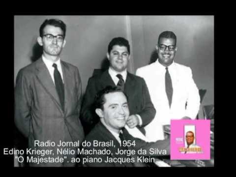 Jorge da Silva - O Majestade declama.