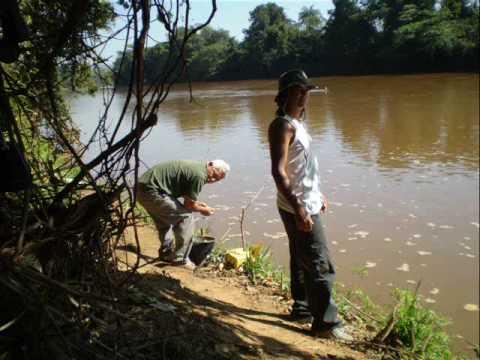 Pescaria no rio Paraopeba, São José da Varginha,MG