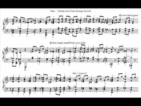Prelúdio da porta heróica do céu - Satie