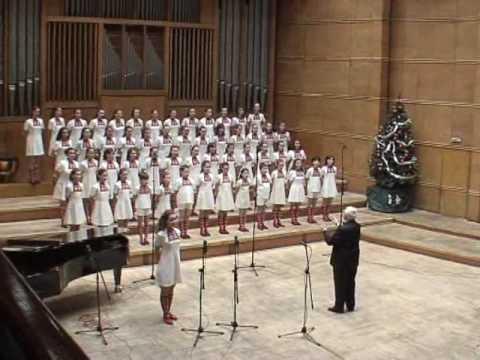 Coro Infantil da Rádio Nacional da Bulgária - Laudate Dominum - Solo de Svetlina Stoyanova