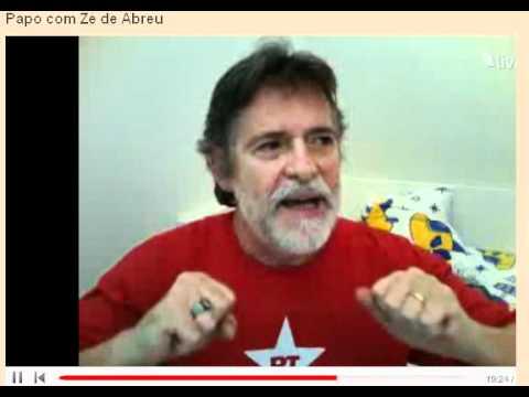 Zé de Abreu disseca José Serra: não cumpriu mandato nem de Pres. da UNE! fugiu antes