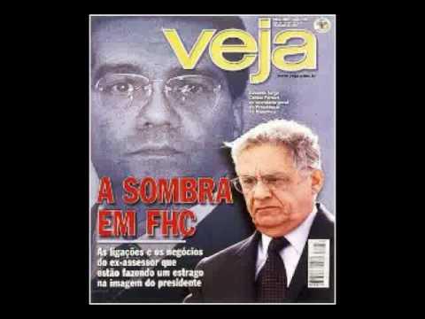 Capas da Veja na Era FHC. Durante o baronato do píncipe dos sociólogos - Dom Fernando Henrique I muitos foram os escândalos e nenhum apurado. E se apurado ninguém punido. Vamos refrescar a memória.