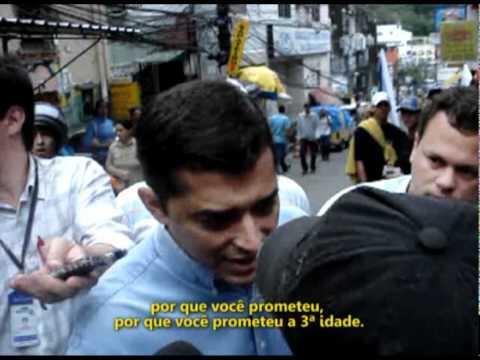 Vice de José Serra é expulso da Rocinha