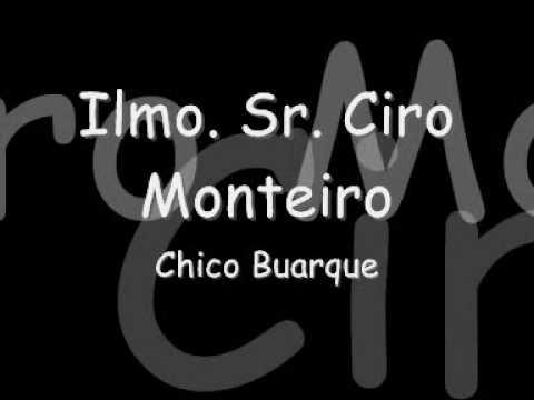 De Chico para Ciro Monteiro