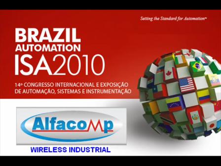 Alfacomp na Brazil Automation ISA 2010