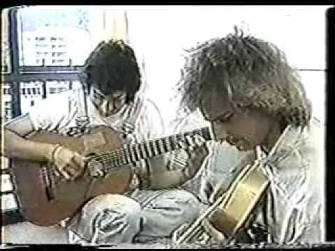 Pat Metheny & Toninho Horta!! - At Pat Metheny's apartment in Rio de Janeiro!