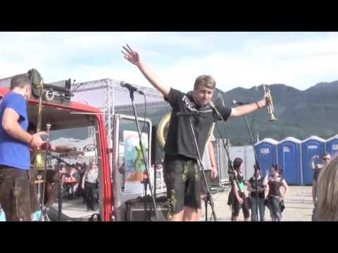 LaBrassBanda CRS Piratenbühne Die Toten Hosen