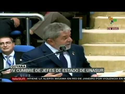Lula da Silva dando uma aula