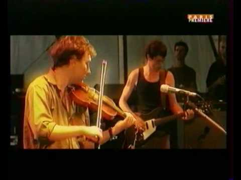 Yann Tiersen-live aux eurock awesome violin skills