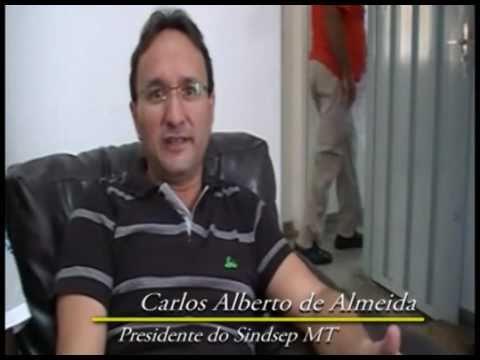 PAGINA DO E - Carlos Almeida, do Sindsep-MT, luta pela moralização da Funasa