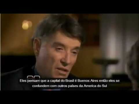 """60 minutes"" fala sobre o Brasil"