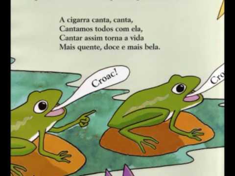 A Cigarra e a Formiga- versão generosa de Luísa Ducla Soares.
