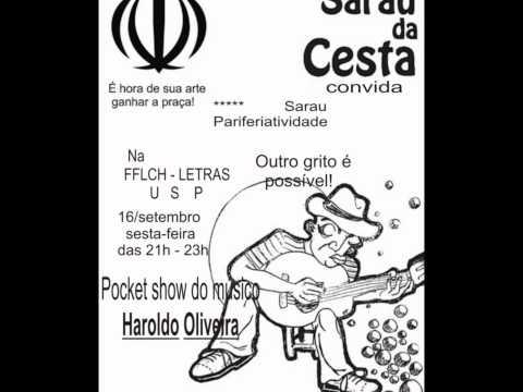 Sarau da Cesta apresenta HAROLDO OLIVEIRA.