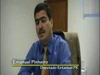 Emanuel mostra holerite mas não abre mão do FAP