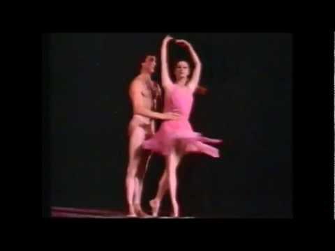 A Morte da Rosa, com Maya Plisetskaya e Boris Efimov.