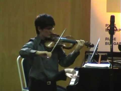 "Sarasate Concert Fantasy on Gounod's ""Faust"", op. 13 - Pedro Barreto"